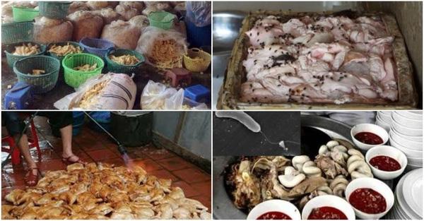 thực phẩm bẩn, vệ sinh an toàn thực phẩm 2