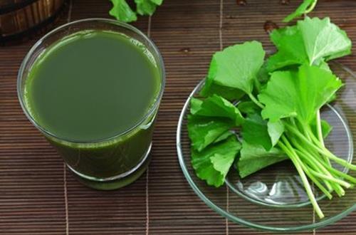 thực phẩm giúp chống say nắng hiệu quả vào mùa hè - hỗn hợp sắn dây, lá tre, rau má, hương nhu
